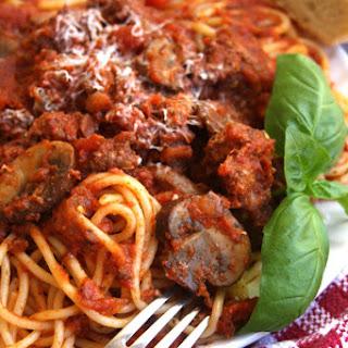 Classic Spaghetti Sauce