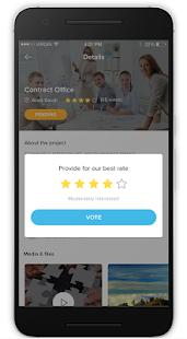 Oqal app - náhled