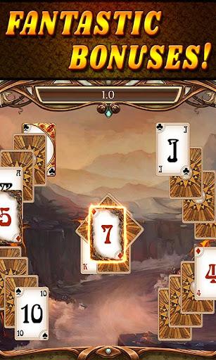Shadow Kingdom Solitaire. Adventure of princess filehippodl screenshot 7