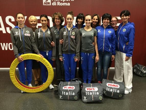 Le individualiste della Ritmica in partenza per i Mondiali che…portano a Rio!