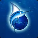 FISHSURFING - social network for fishing icon