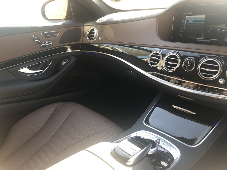 Massaging front seats and wireless charging are some of the standard features. Picture: THEMBEKILE VOKWANA