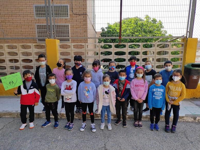 ALMERÍA CEIP Los Millares. 1º A de Primaria