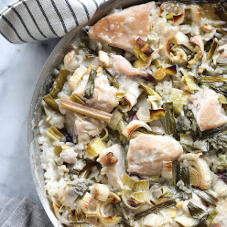 """Tom Kha Gai"" Thai Chicken and Rice Casserole."