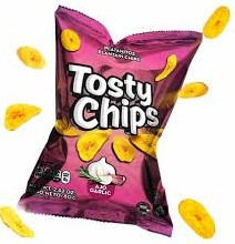 snack tosty chips ajo 80gr