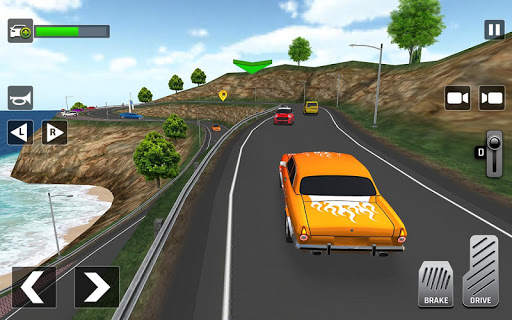 City Taxi Driving: Fun 3D Car Driver Simulator screenshots 10
