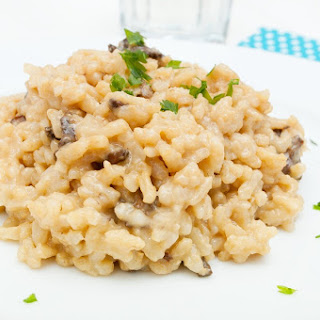 Slow Cooker Mushroom Risotto Recipe