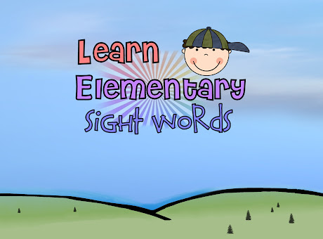 Learn Elementary Sight Words