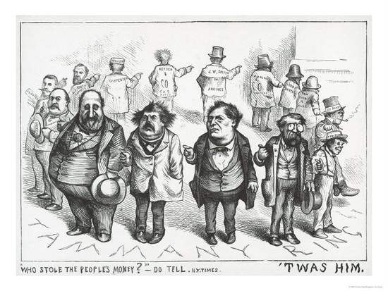 Who Stole The People's Money? - Thomas Nast (August 19th, 1871)