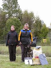 Photo: Valga Koerteklubi meister kuulekuskoolituses 2013. Jana Juhkam ja Caserta Oger Schloss