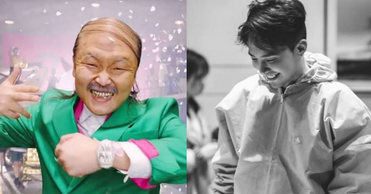 An old embarrassing photo of PSY with G-Dragon resurfaces online