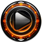 O Glow Poweramp skin Theme icon