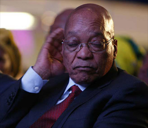 Given the timing, many on social media have suggested Jacob Zuma's illness was 'convenient'.
