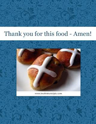 Thank you for this food - Amen!