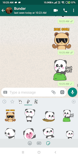 Cute Panda Sticker Pack - WAStickerApps New 1.0-release-first screenshots 7