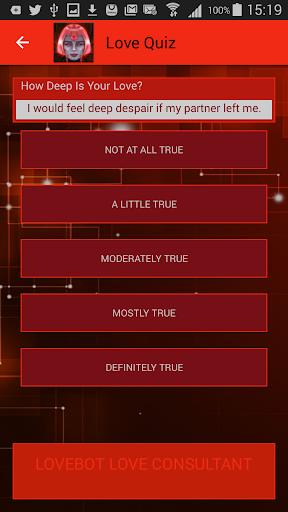 LoveBot Love Oracle: Love horoscopes 3.0.0 screenshots 6