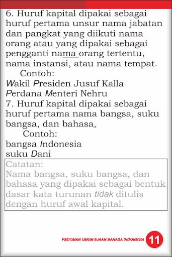 Download Pedoman Umum Ejaan B Indonesia Google Play Softwares