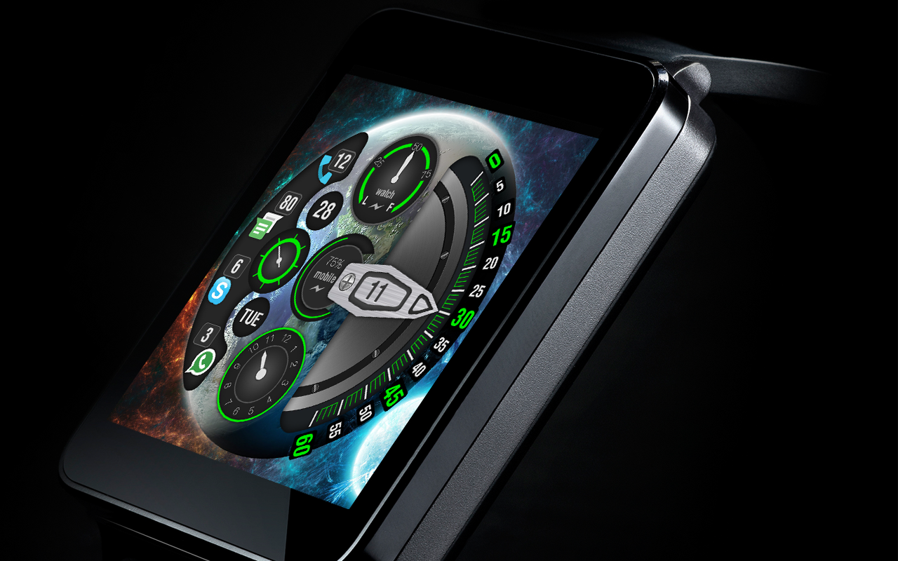 Cosmic Watch Faces - Android Apps on Google Play