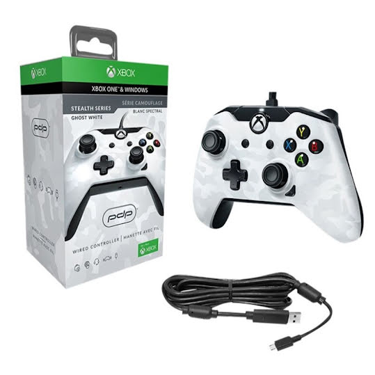 PDP Wired Controller White Camo XB1