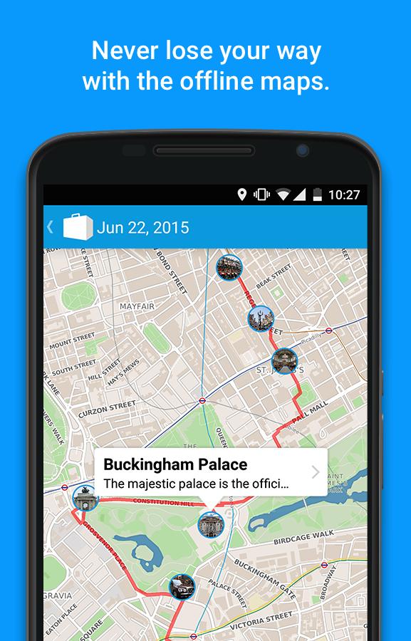 Tripomatic Trip Planner- screenshot