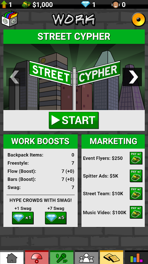 Rap Quest 2- screenshot