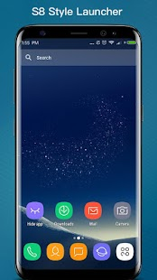 S S8 Launcher - Galaxy S8 Launcher, theme, cool Screenshot