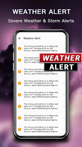 Weather Forecast - live weather radar App Report on Mobile
