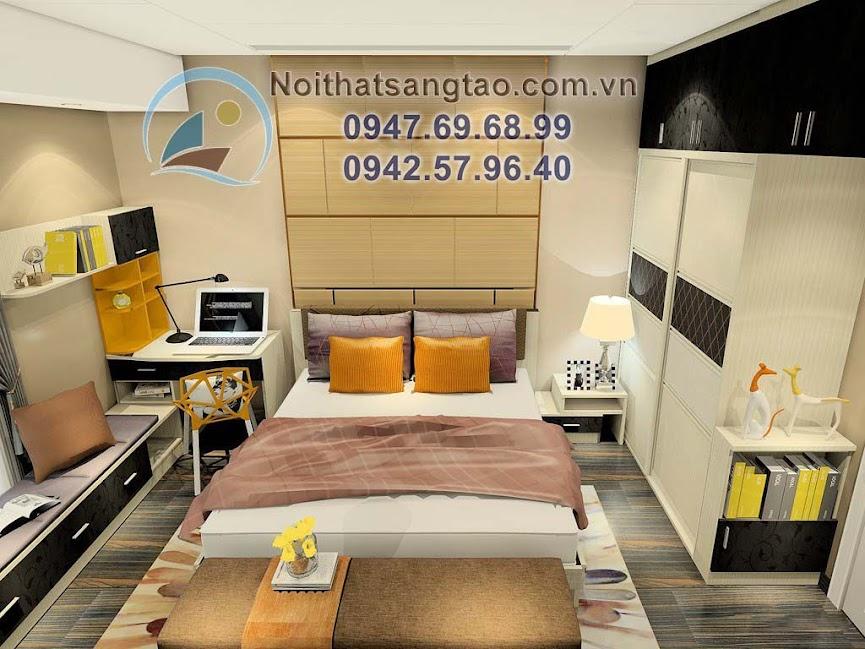 thiết kế phòng ngủ giá rẻ