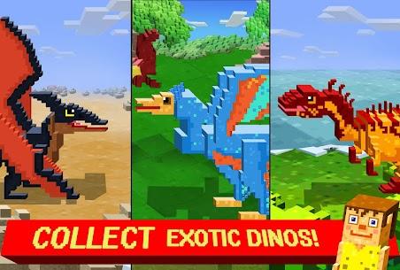 Jurassic Pixel Craft: dino age 8