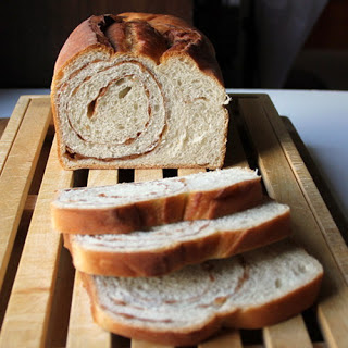 Cinnamon Swirl Cereal Bread.