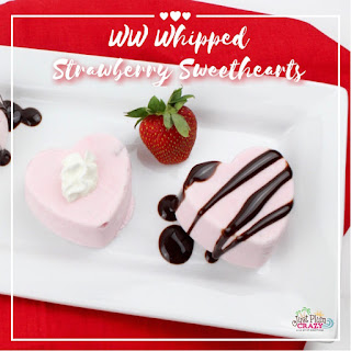 Whipped Strawberry Sweethearts Recipe – 3 WW Smart Points.