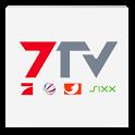 7TV | Mediathek, TV Livestream icon