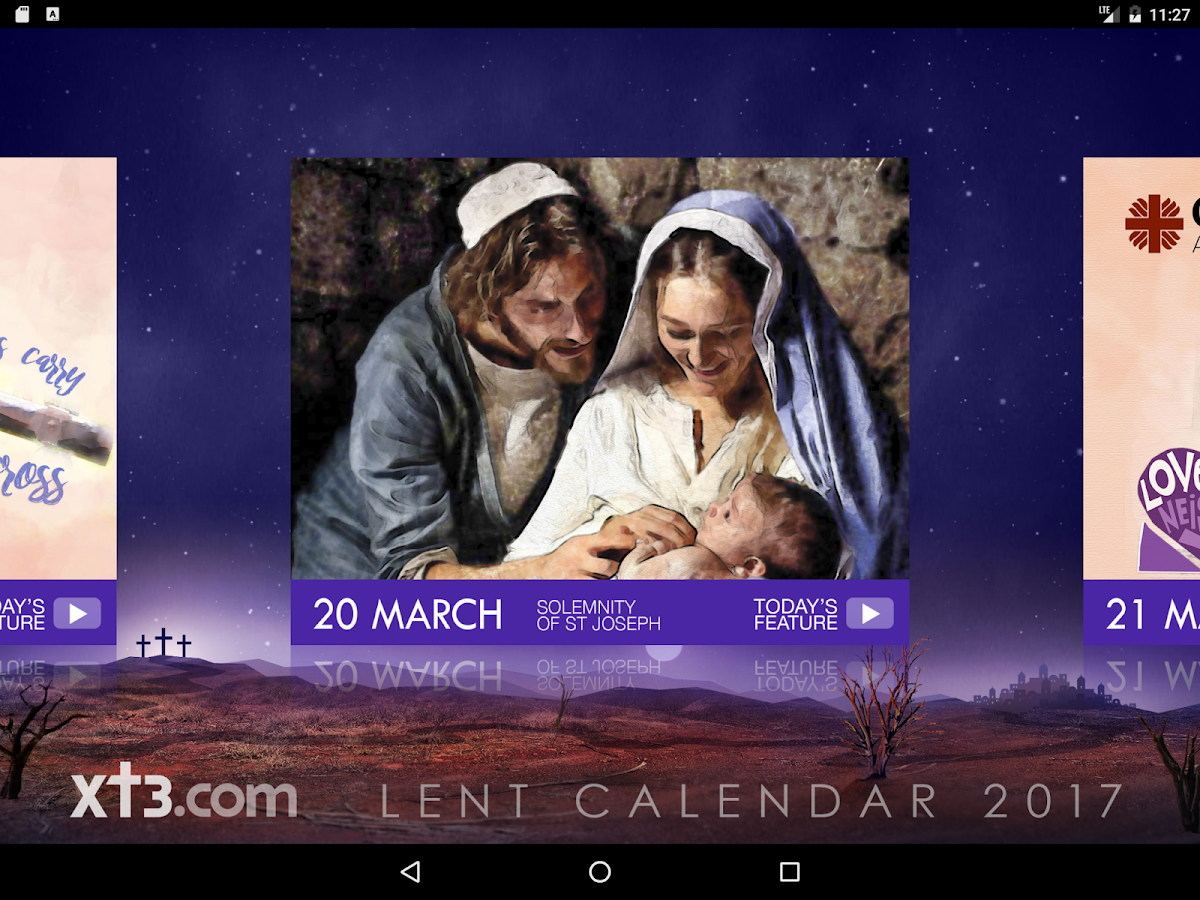 Xt3 Lent Calendar HD 2017- screenshot