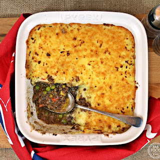 Easy Cheesy Cheat's Cottage Pie #PowerofFrozen