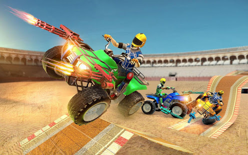 Download Monster ATV Bike Demolition Derby For PC Windows and Mac apk screenshot 2