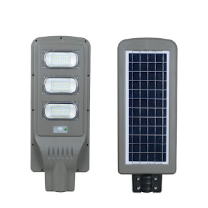 Lampa stradala 90W cu panou solar, acumulator