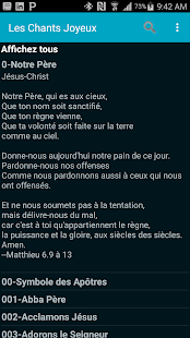 Download French Hymn Lyrics For PC Windows and Mac apk screenshot 2