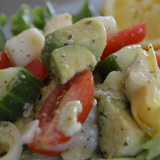 Marinated Artichoke Salad.