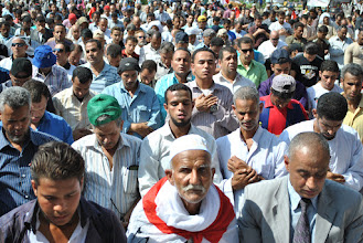 Photo: A clear cross-section of Egyptian society could be found in the middle of Tahrir Square: young and old, men and women, Muslim and secular.