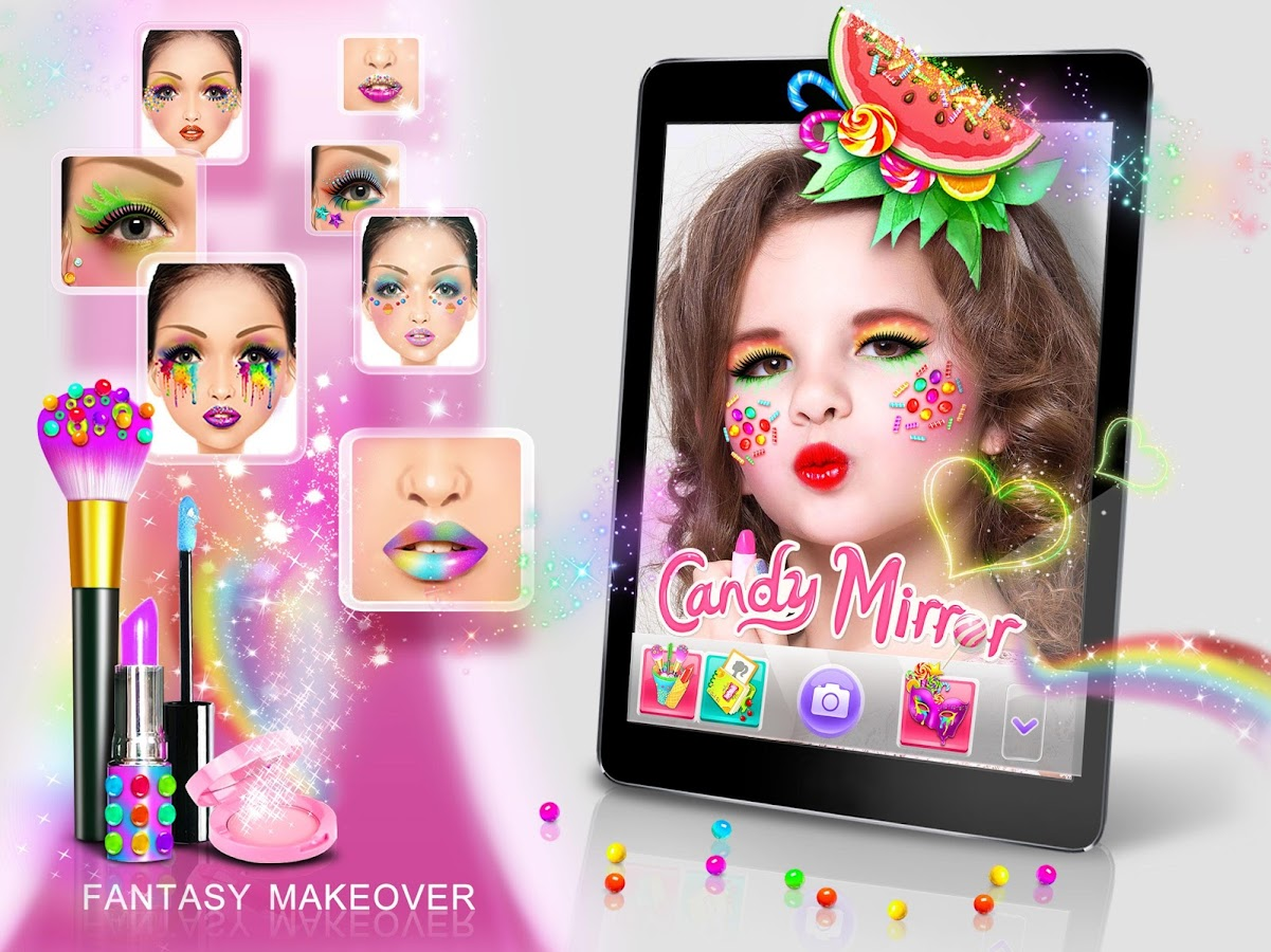 Candy Mirror! Fantasy Makeover- screenshot
