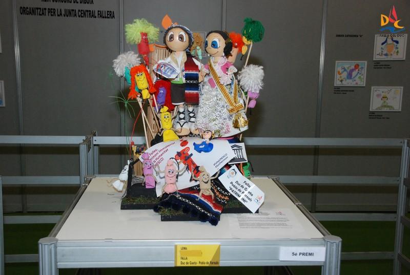 """""""PATRIMONI"""",  5º Premio de maquetas de JCF"""