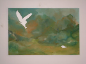 """Photo: The Owl and the Mouse: 24"""" x 36"""" (SOLD)"""