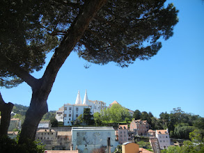 Photo: We took a day trip out to Sintra, about a half an hour by train in the hills outside of Lisbon. It's where the royals used to spend their summers.