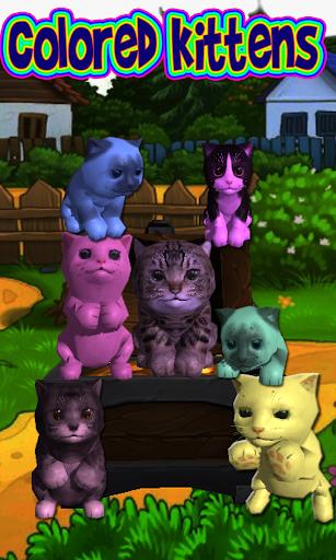 擬寵物貓的顏色