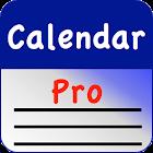 Calendar Pro/en - test version icon