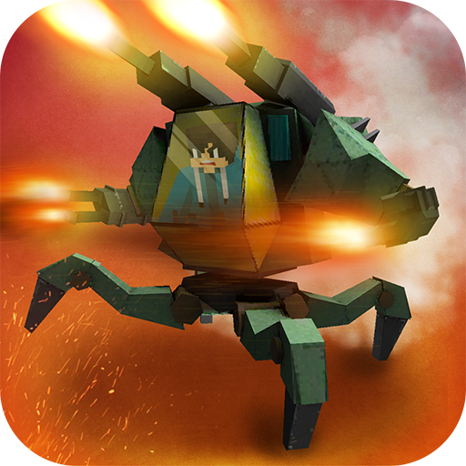 Battle Mech Craft: X4 Robot Builder. War Simulator