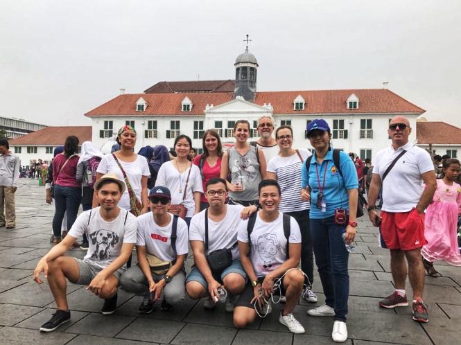 The Jakarta Walking Tour in Kota Tua