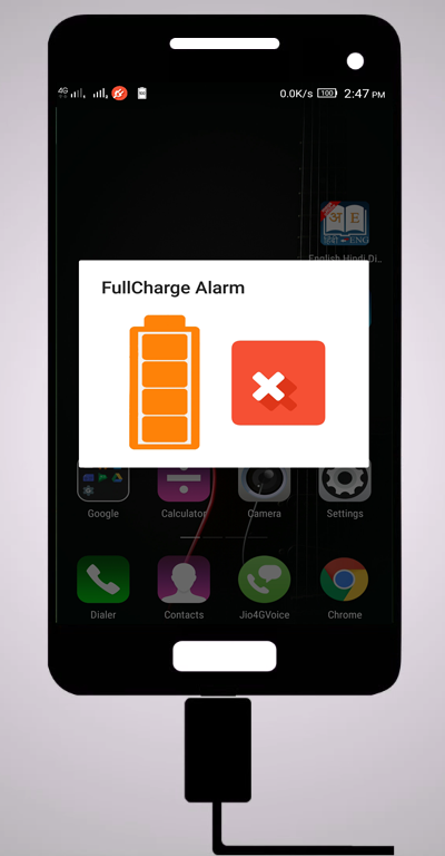 Full Charge Alarm- screenshot