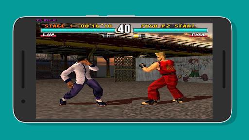 Super PPSSPP Tekken 3 - 7 reference 1.0 screenshots 1
