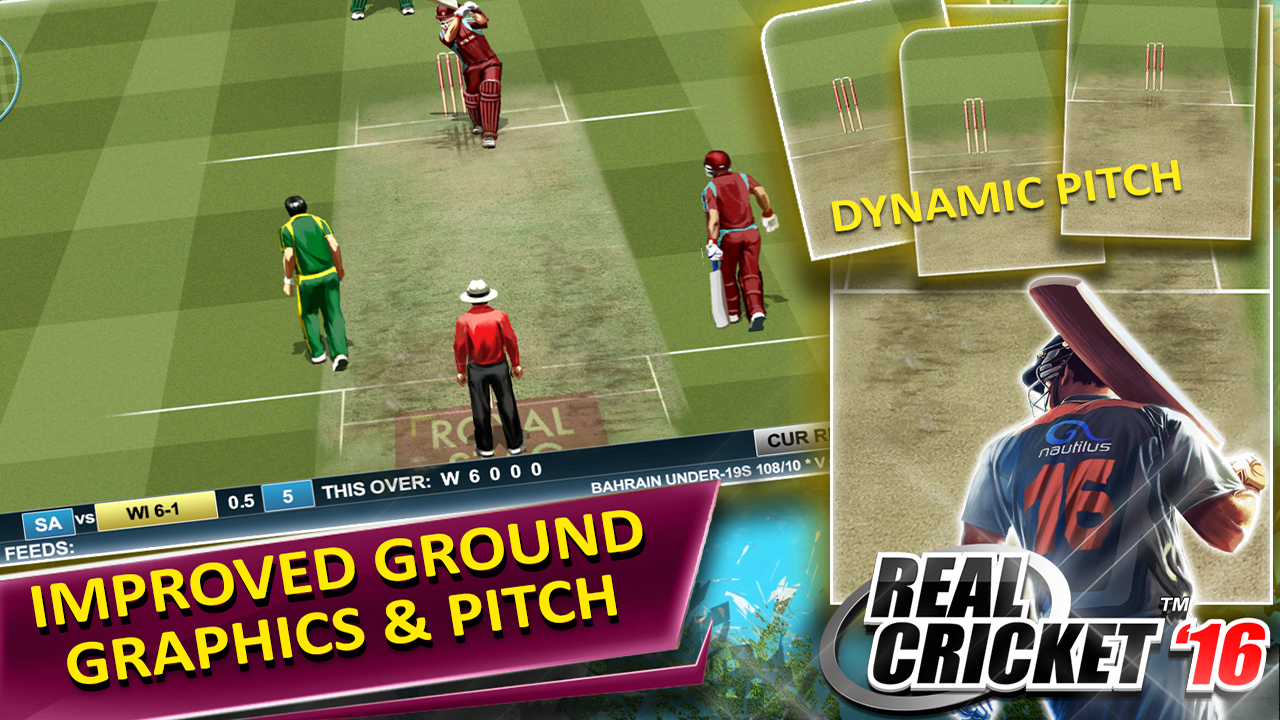 Real Cricket ™ 16- screenshot